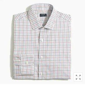 J.Crew Thompson Slim Flex Wrinkle Free Dress Shirt